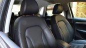 Audi Q3S Review front seats
