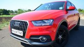 Audi Q3S Review front three quarter angle