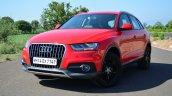 Audi Q3S Review front three quarter