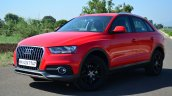 Audi Q3S Review front three quarters