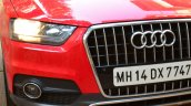 Audi Q3S Review grille and light
