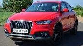 Audi Q3S Review quarter front