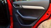 Audi Q3S Review rear door trim