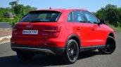 Audi Q3S Review rear quarter profile
