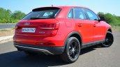 Audi Q3S Review rear quarter