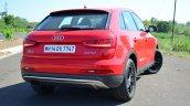 Audi Q3S Review rear three quarter