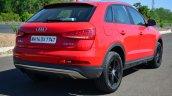 Audi Q3S Review rear three quarters