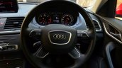 Audi Q3S Review steering wheel