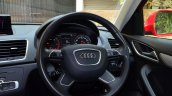 Audi Q3S Review steering