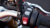 BMW S1000R press image switchgear right