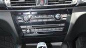 BMW X5 centre console