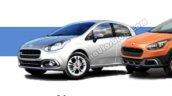 Fiat Punto facelift IAB leaked