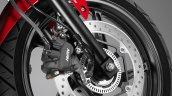 Honda CBR300R front disc brake press image