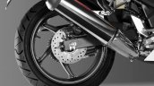 Honda CBR300R rear disc brake press image