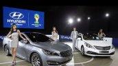 Hyundai AG and 2014 Hyundai Grandeur at Busan Motor Show 2014