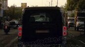 Mahindra Scorpio facelift taillamps on spyshot May 2014