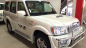 Mahindra Scorpio special edition front three quarters left