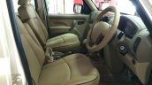 Mahindra Scorpio special edition leather front seats