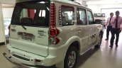 Mahindra Scorpio special edition rear three quarters right