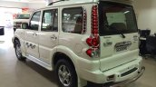 Mahindra Scorpio special edition rear three quarters