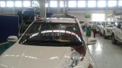 Mahindra XUV500 Sportz bonnet graphics spied