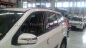 Mahindra XUV500 Sportz front spied