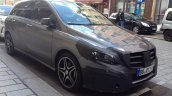 Mercedes-Benz B-Class front three quarter right spyshot