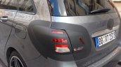 Mercedes-Benz B-Class taillight spyshot