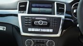 Mercedes-Benz ML 63 AMG Review center console