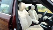 Mercedes-Benz ML 63 AMG Review front seat