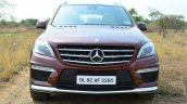 Mercedes-Benz ML 63 AMG Review front