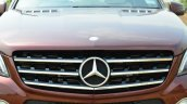 Mercedes-Benz ML 63 AMG Review grille