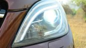 Mercedes-Benz ML 63 AMG Review headlight on