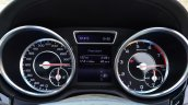 Mercedes-Benz ML 63 AMG Review instrument cluster