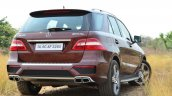 Mercedes-Benz ML 63 AMG Review rear quarter