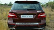 Mercedes-Benz ML 63 AMG Review rear