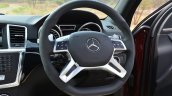 Mercedes-Benz ML 63 AMG Review steering