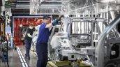Mercedes C-Class Estate Bremen plant press image