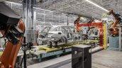 Mercedes C-Class Estate Bremen plant production press image
