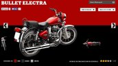 Royal Enfield Bullet Electra Red colour screen capture