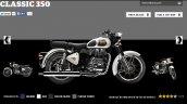 Royal Enfield Classic 350 Ash colour screen capture