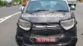 Spied Mahindra S101 in Chennai front