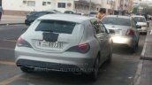 Spied Mercedes CLA Shooting Brake rear