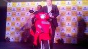 Suzuki Let's launch live image