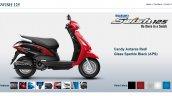 Suzuki Swish 125 Candy Antares Red screen capture