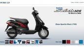 Suzuki Swish 125 Glass Sparkle Black screen capture