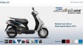 Suzuki Swish 125 Metallic Sonic Silver screen capture