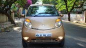 Tata Nano Twist Review front angle