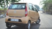 Tata Nano Twist Review rear profile