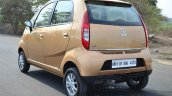 Tata Nano Twist Review rear quarter
